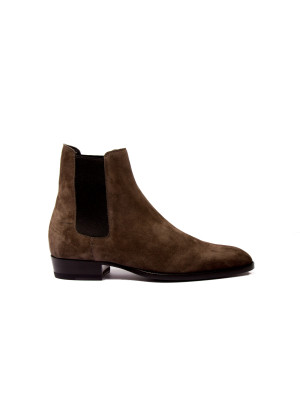 Saint Laurent Paris low boots otterproof brown 102-00106
