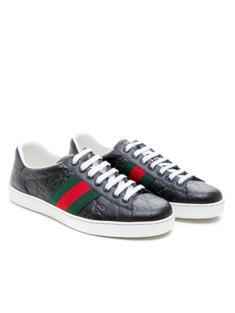 gucci sport shoes black credomen