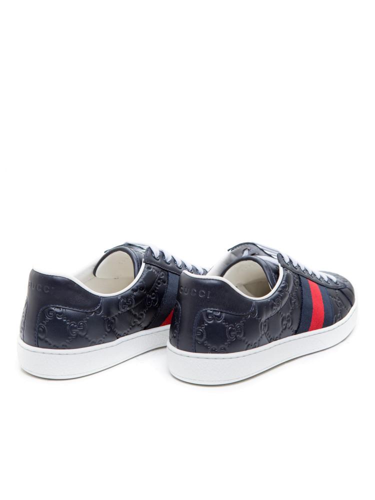 gucci sport shoes blue credomen