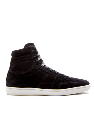 Saint Laurent Paris sport shoes suede soho black 104-01902
