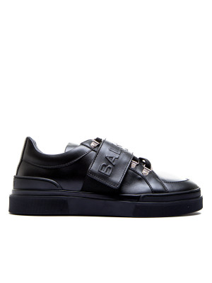 Balmain low sneakers-cobalt black 104-02052