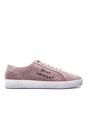 Saint Laurent sl06 low top sneaker pink 104-02105
