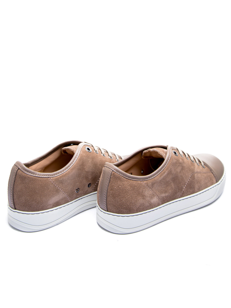 Lanvin captoe low top sneaker Lanvin  CAPTOE LOW TOP SNEAKERbeige - www.credomen.com - Credomen
