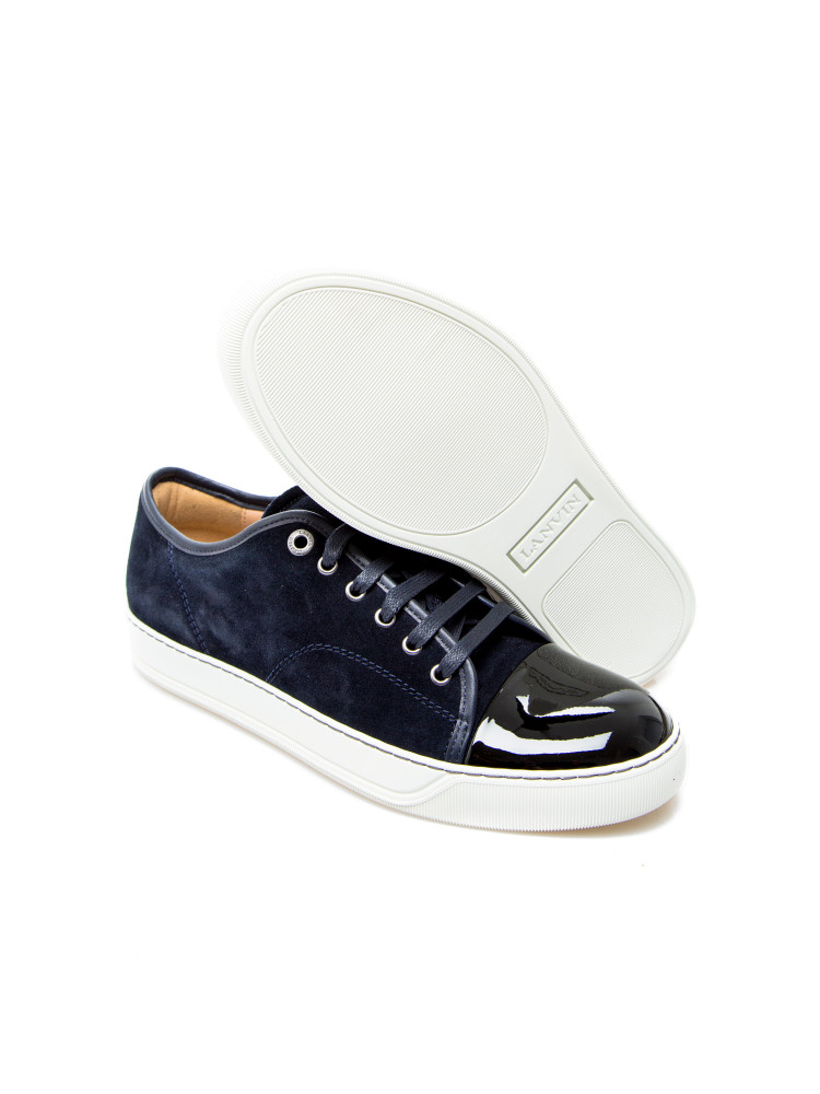 Lanvin captoe low top sneaker Lanvin  CAPTOE LOW TOP SNEAKERblauw - www.credomen.com - Credomen