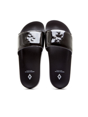Marcelo Burlon bai pool slider black 105-00156
