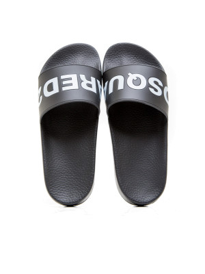 Dsquared2 slide sandal black