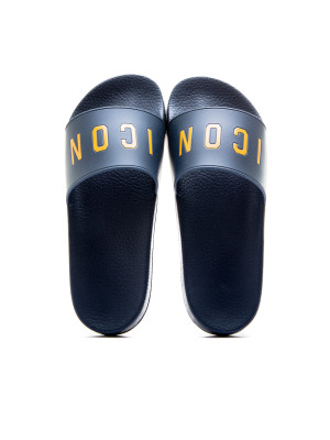 Dsquared2 slide sandal icon blue 105-00174