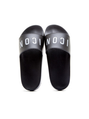 Dsquared2 slide sandal black 105-00176