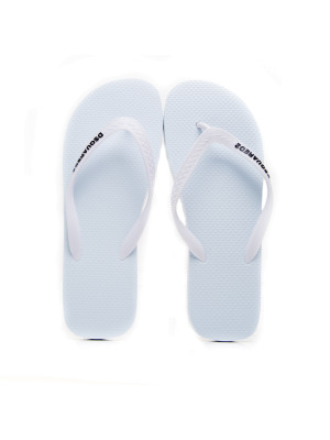Dsquared2 flip flop white 105-00177