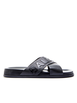 Balmain sandal-cross black 105-00189