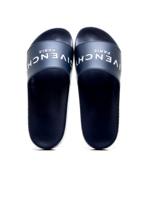 Givenchy slide flat sandal blue 105-00190