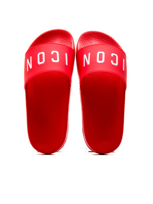 Dsquared2 slide sandal red