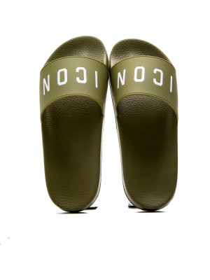 Dsquared2 slide sandal green