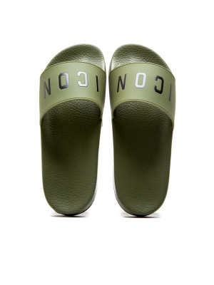 Dsquared2 slide sandal icon 105-00290