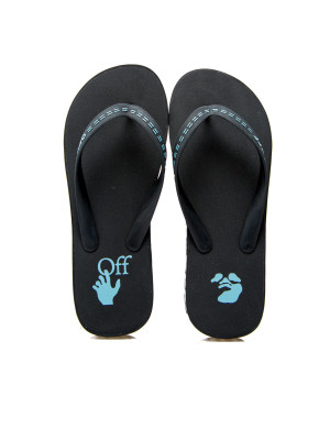 Off White rubber flip flop 105-00429
