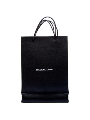 Balenciaga shopping tote n-s m black 321-00660