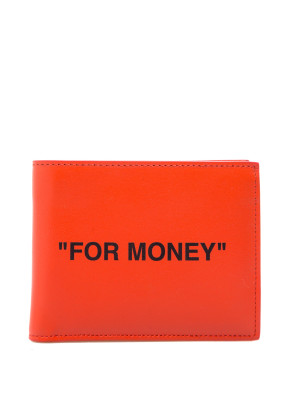 Off White quote bifold wallet 328-00087