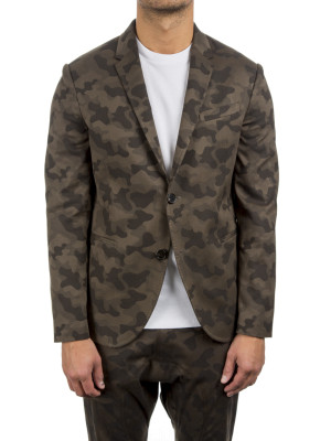 neil barrett woven jacket green 411-00110