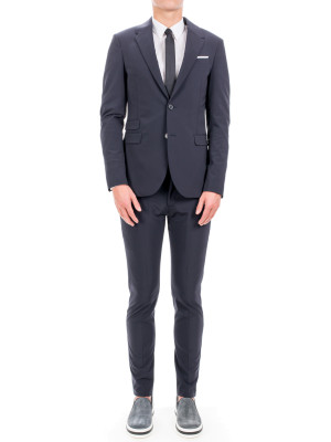 neil barrett suit blue 412-00105