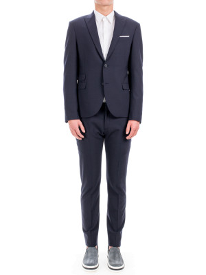 neil barrett suit blue 412-00106