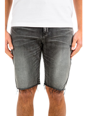 Saint Laurent denim bermuda raw ed 414-00062