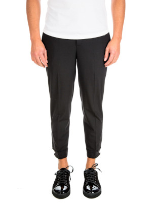 neil barrett snap cuff trouser black 415-00275
