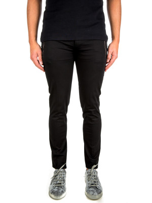 neil barrett zip pckt trouser black 415-00276