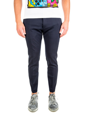 Dsquared2 pants skinny dan fit blue 415-00278
