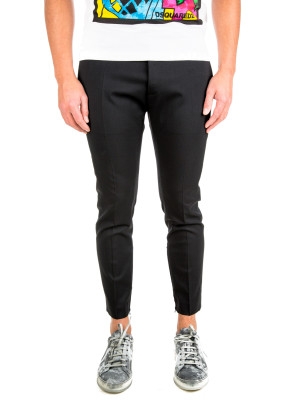 Dsquared2 pants skinny dan fit black 415-00279