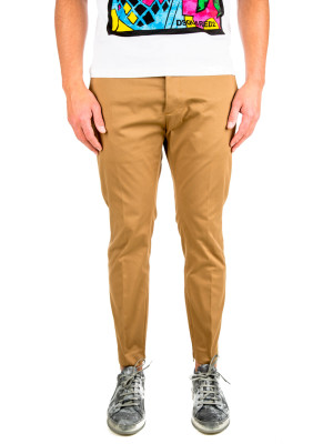 Dsquared2 pants skinny dan fit brown 415-00280