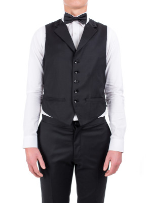 Credo Collection men's waistcoat black 417-00017