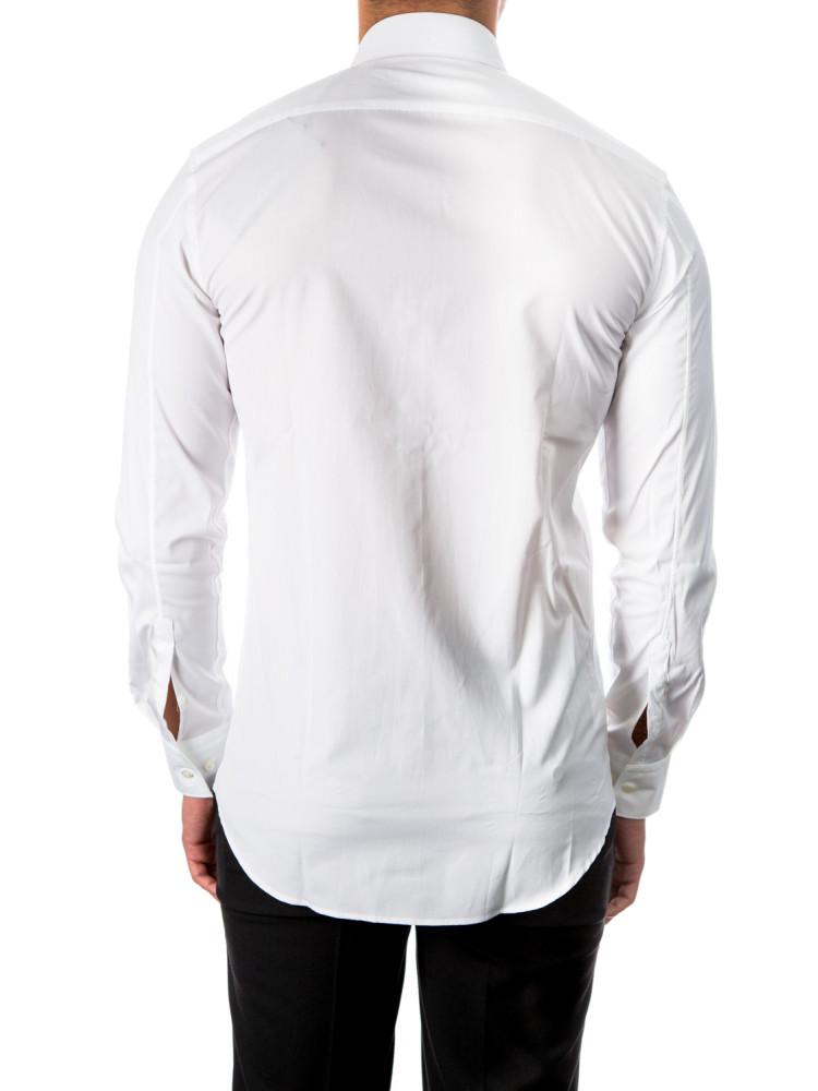 neil barrett tuxedo shirt white credomen