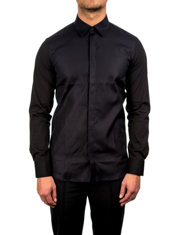 Neil barrett tuxedo shirt black credomen for Neil barrett tuxedo shirt