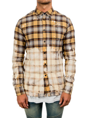 faith connexion  fit shirt beige 421-00336