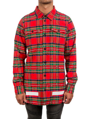 CHECK SHIRT + RIPS multi 421-00354