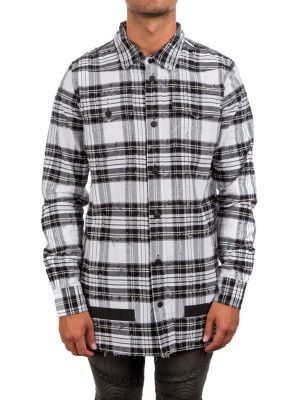 CHECK SHIRT + RIPS multi 421-00355