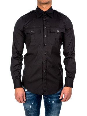 Dsquared2 carpenter shirt black 421-00366