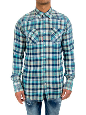 Dsquared2 western shirt multi 421-00367