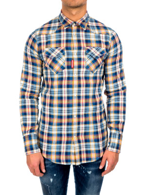 Dsquared2 western shirt multi 421-00368