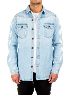 Off White temperature denim blue 421-00374