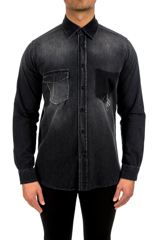 saint laurent oversize shirt point credomen. Black Bedroom Furniture Sets. Home Design Ideas