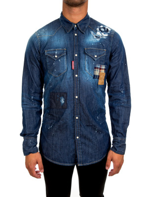 Dsquared2 western fit patch