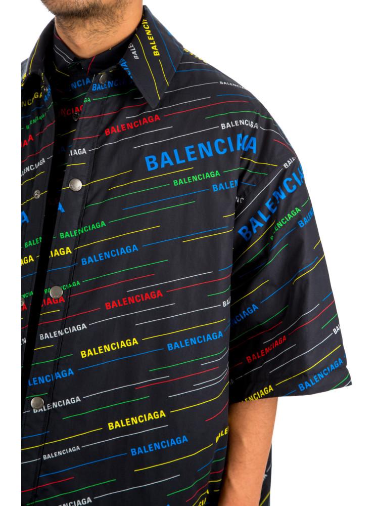 44421fd8a Balenciaga shirt spring logo Balenciaga SHIRT SPRING LOGOzwart -  www.credomen.com - Credomen