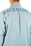 Balenciaga shirt light denim Balenciaga  SHIRT LIGHT DENIMblauw - www.credomen.com - Credomen