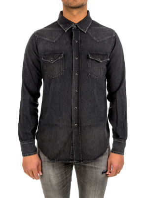 Saint Laurent classic western shirt 421-00474