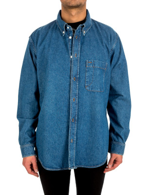 Balenciaga shirt light denim 421-00525
