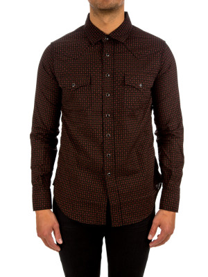 Saint Laurent classic western shirt 421-00529