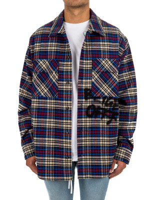 Off White flannel check shirt