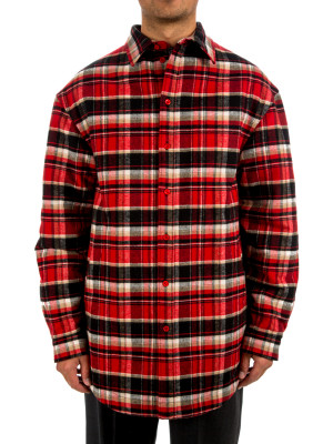 Balenciaga shirt heavy flannel 421-00544
