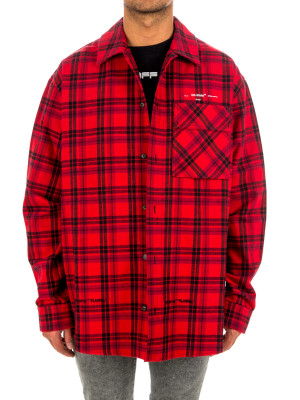 Off White flannel check shirt 421-00580